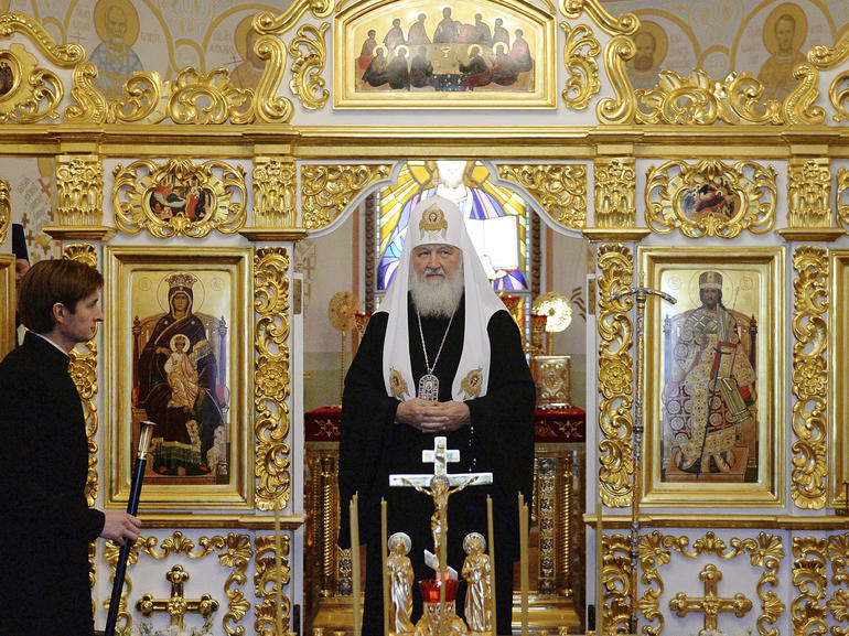 Sergey Vlasov/Russian Orthodox Church Press Service via AP